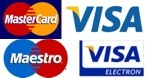 Acceptable creditcards